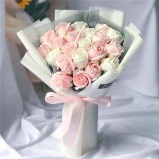 Special 520 Pink Roses Bouquet