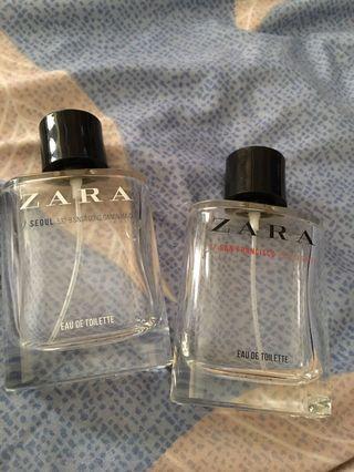 Botol zara perfume