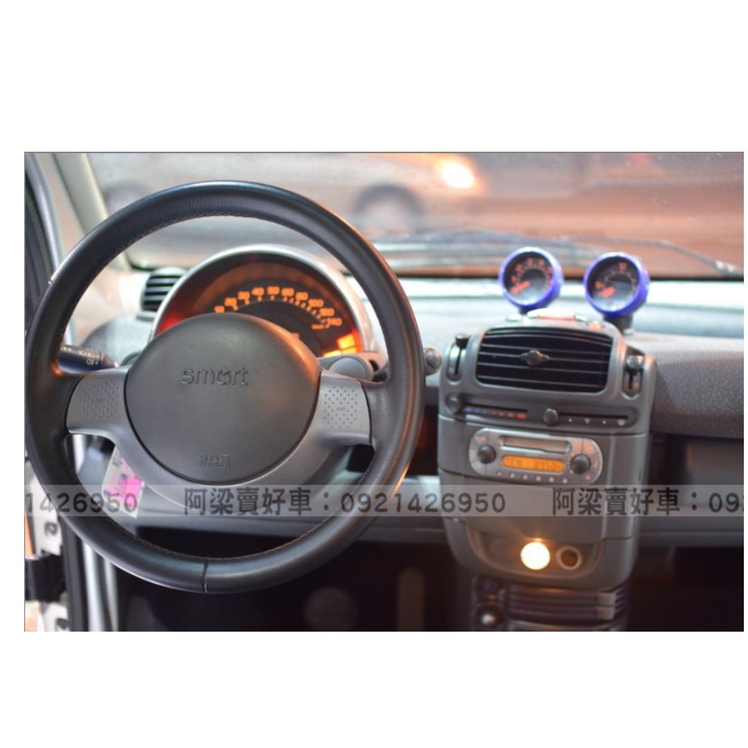 2002年-賓士-SMART (700cc.輕巧都會小車)『全額貸.低利率』買車不是夢想.歡迎加 LINE.電(店)洽