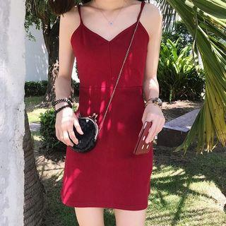 🆕 READY STOCK KNITTED DRESS #CNYRED