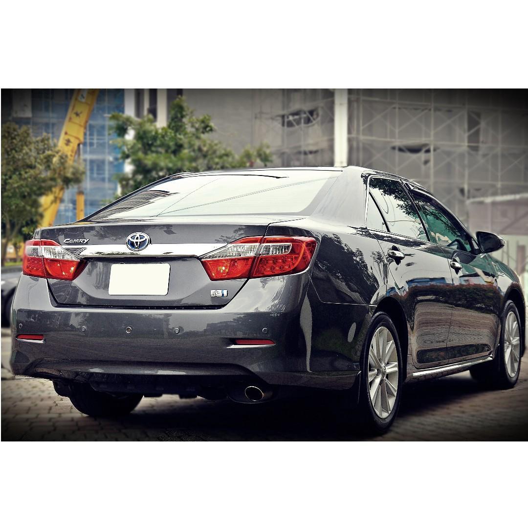 2012年 TOYOTA CAMRY Hybrid 油電混合板 #新車106萬