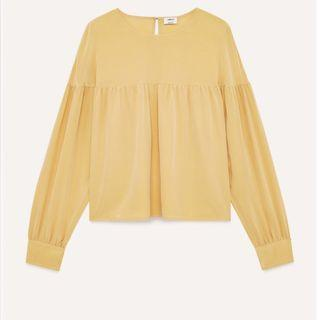 Aritzia wilfred elisa blouse size xsmall new with tags