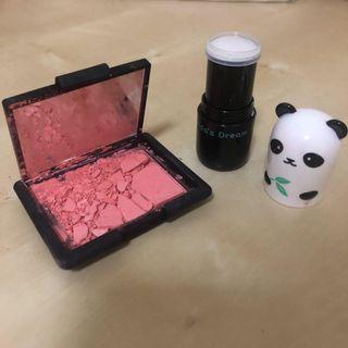 NARS bumpy ride blush, TONY MOLY Panda's Dream Brightening Eye Base