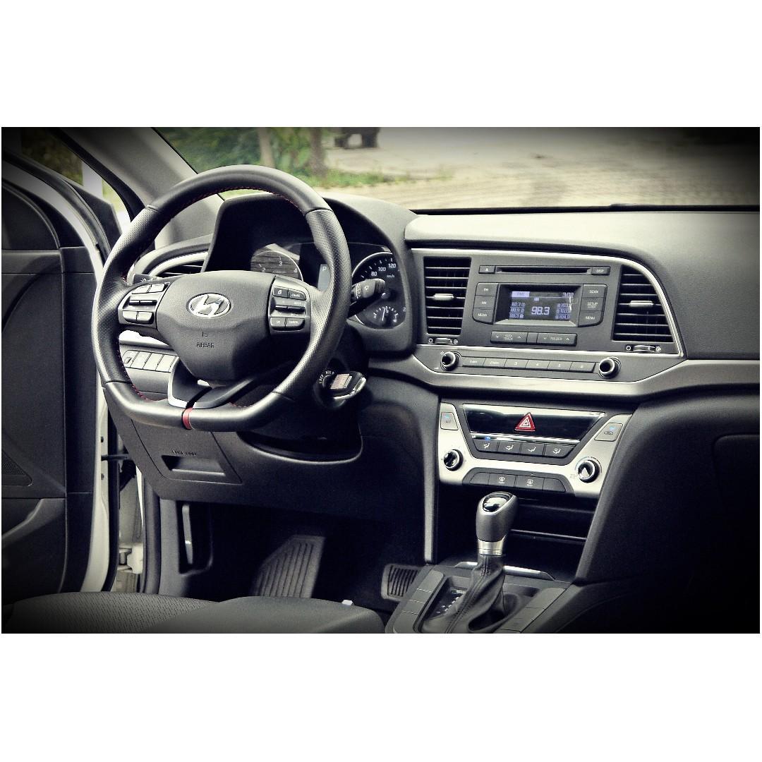 2017年 Hyundai 現代1.6 Elantra 柴油尊貴版 #新車78萬