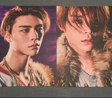 NCT Johnny 官方post card