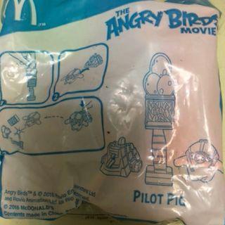 全新未開封麥當勞開心樂園餐Angry Birds玩具#MTRtw