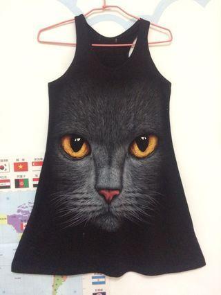 🚚 貓咪背心洋裝
