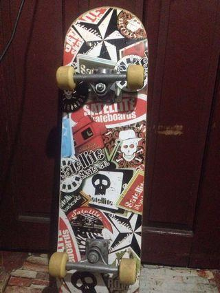 Skateboard needs a new owner