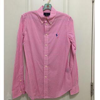 Ralph Lauren ladies long sleeve cotton shirt Size 6 custom fit