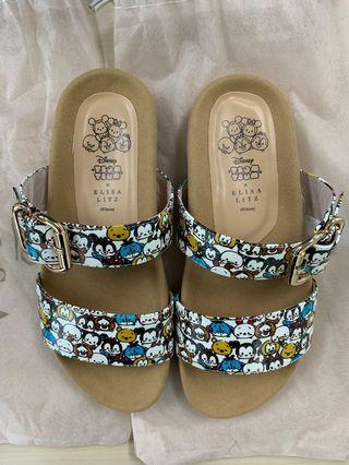 NOT FOR SALE ANYMORE ☺️ Eliza Litz x Disney Tsum Tsum sandals