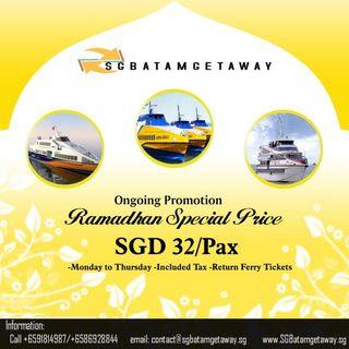 Return Ferry Tickets to Batam