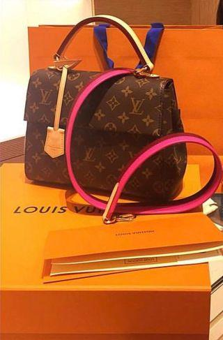 9bac3e695d8a Louis Vuitton BAG STRAP only Clunny pink