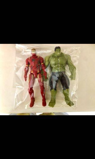 Avenger hulk and iron man baru !