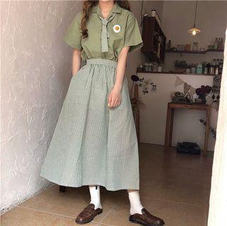 🚚 《套裝 全新》抹茶色休閒套裝