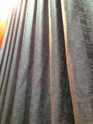 🚚 80%/90% Blockout Night Curtain/Privacy Day Curtain