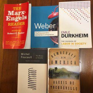 🚚 Social theory books