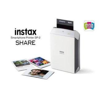 Instax Share SP-2 SILVER NEW !