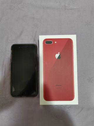 Selling iPhone 8 plus 256gb red