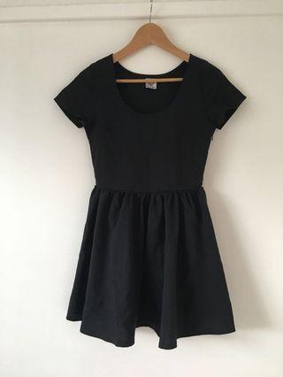 Angel Biba Princess Polly black mini dress size 8 #swapau