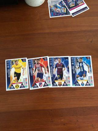MA Road to Madrid 19 card clearance