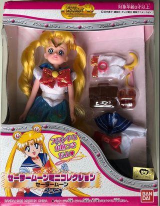美少女戰士figure 2000年(全套齊件全新)