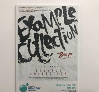 Billy Ng 雞精書仔 Example Collection [DSE英文]