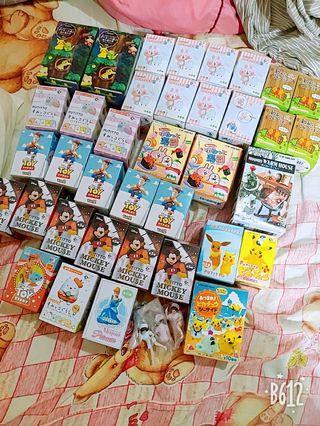 盒玩出清 迪士尼 米奇 卡娜赫拉 維尼 寶可夢 玩具總動員
