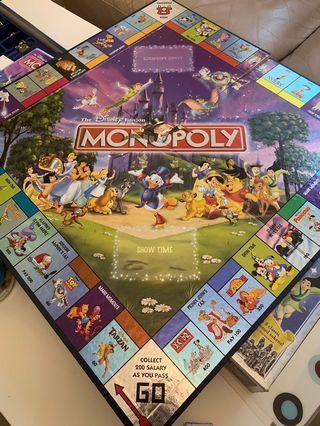 迪士尼紀念版大富翁 Monopoly Disney edition