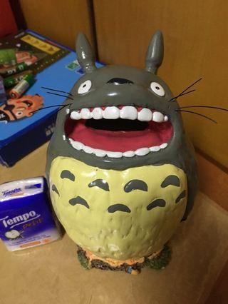 全新絕版正版龍貓Totoro陶瓷錢箱
