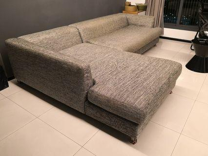 huge massimmo L shape shaped sofa