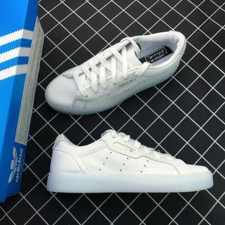 Adidas Originals Sleek W G27342 三葉草2019新款 水晶底
