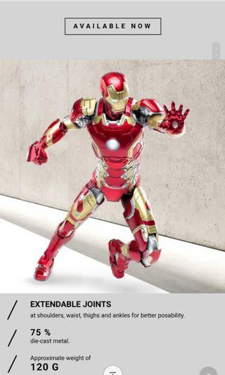 Iron man mark 43 合金