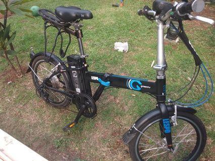Lespo Greenity, Folding E-Bike