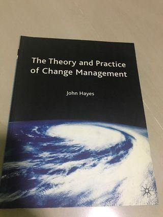 🚚 The Theory And Practice of Change Management