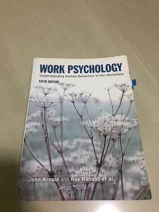 🚚 Work Psychology