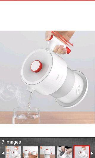 Xiaomi Mijia Deerma 0.6L Folding Portable Water Kettle Handheld Electric Water Flask Pot Auto Power-