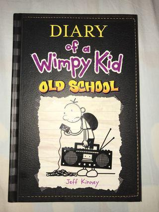 Diary of a Wimpy Kid Old School Edition