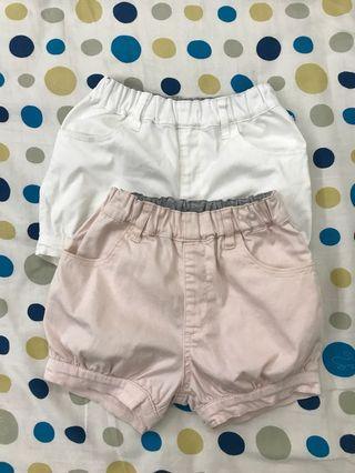 🚚 女童短褲二件