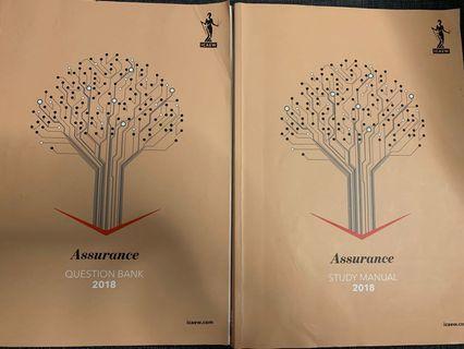 🚚 ICAEW Certificate level Assurance 2018