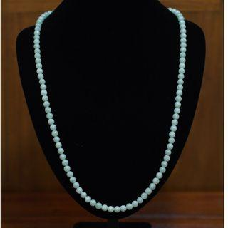 Mother's Day Special Sale 30% off - Luminous Jade Bead Necklace (7mm)