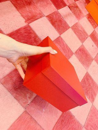 開運正紅禮物收納盒(高磅數、硬盒)