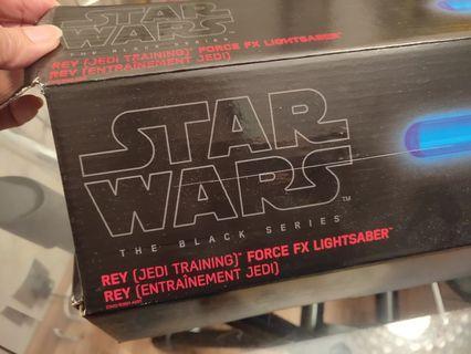 STAR WARS the black series No.07 Rey Force FX lightsaber
