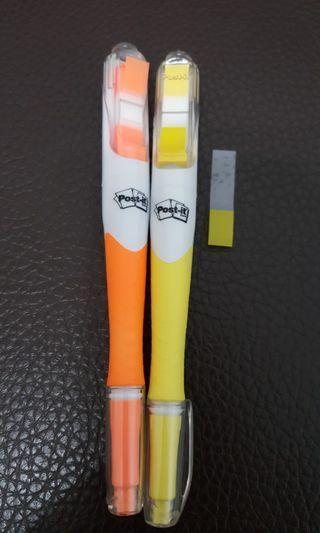 🚚 螢光便條紙筆
