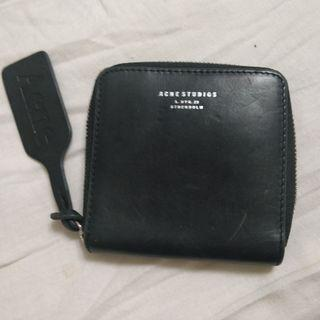 🚚 Acne Studios Black Leather Wallet with Box