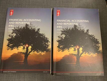🚚 ICAEW Pro level exam Financial accounting and reporting 2017 study manual and question bank