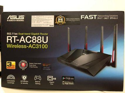 Asus Router RT-AC88U wireless-AC3100