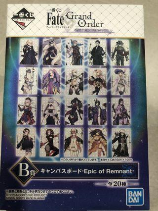 🚚 Fate Grand Order Artwork [Kuji]