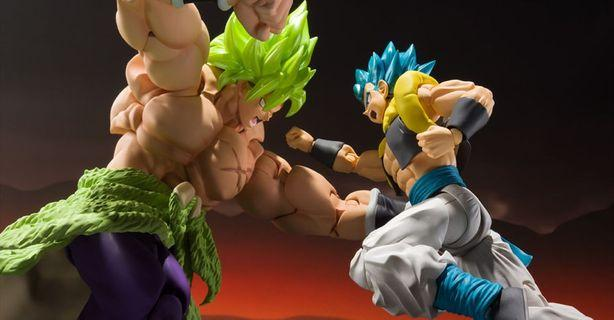 Shf broly and gogeta set