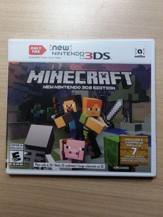 Minecraft 3DS Game