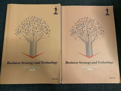 🚚 ICAEW Pro Lvl Business Strategy and Technology 2018